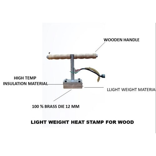 Heat Stamp For Wood